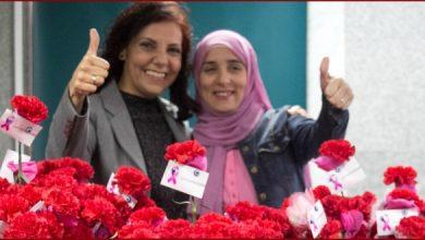 زيارة الشيف مروة الشافعي للمعهد القومى للأورام