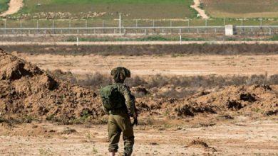 إعلان حدود غزة منطقة عسكرية مغلقة