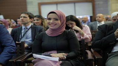 آية عبد الرحمن تقدم جلسة افتتاح منتدى الإسكندرية للإعلام