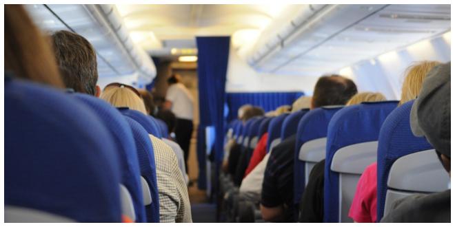 وزن الركاب قبل صعود الطائرة