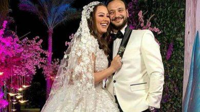 زفاف هنادي مهنى وأحمد خالد صالح