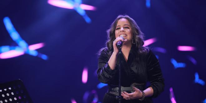 زهرة رامي تقدم حفلتها الغنائية
