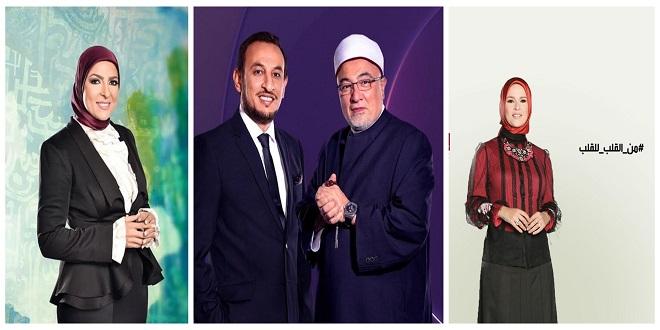 مواعيد البرامج الدينية في رمضان