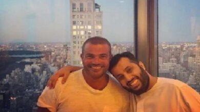 هدية عمرو دياب لتركي آل الشيخ