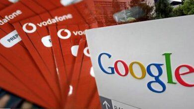 شراكة فودافون وجوجل