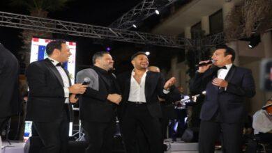 زفاف نجل مصطفى قمر