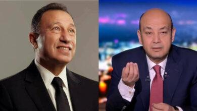 محمود الخطيب و عمرو أديب