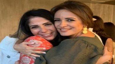 ريهام عبد الغفور و منى زكي