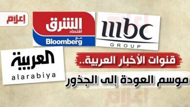 قنوات الأخبار العربية