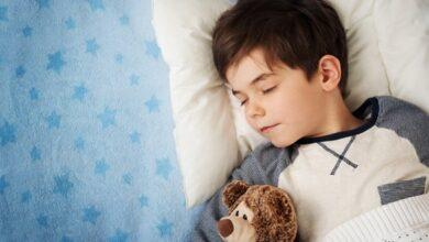 عدد ساعات نوم الأطفال